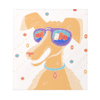 Happy Dog Year Notepad