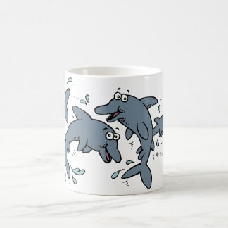 Happy Dolphin Mug