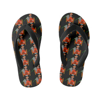 Happy Driving by The Happy Juul Company Kid's Flip Flops