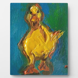 Happy Duck Plaque