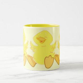 Happy Duck Triplets Coffee Mug