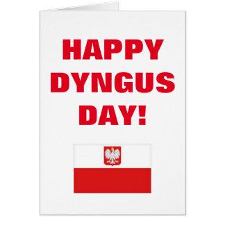 HAPPY DYNGUS DAY CARD