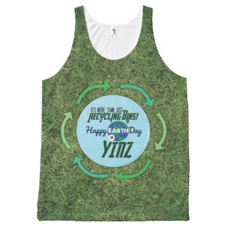 Happy Earth Day Yinz Grassy Tank