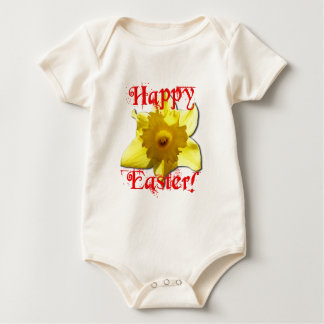 Happy Easter, 02.T Daffodils Baby Bodysuit