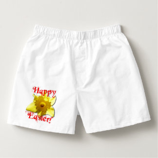 Happy Easter, 02.T Daffodils Boxers