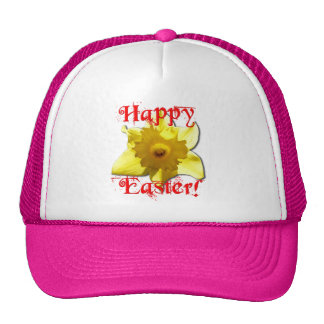 Happy Easter, 02.T Daffodils Trucker Hat