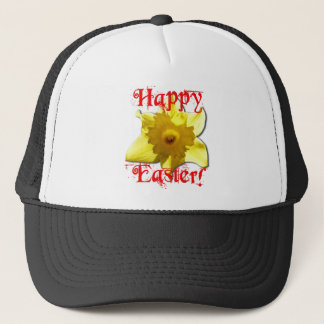 Happy Easter, 02.T Daffodils Trucker Hat
