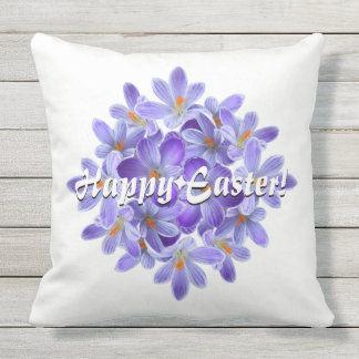 Happy Easter! 05.30.T Outdoor Pillow
