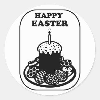 Happy Easter_1 Round Sticker
