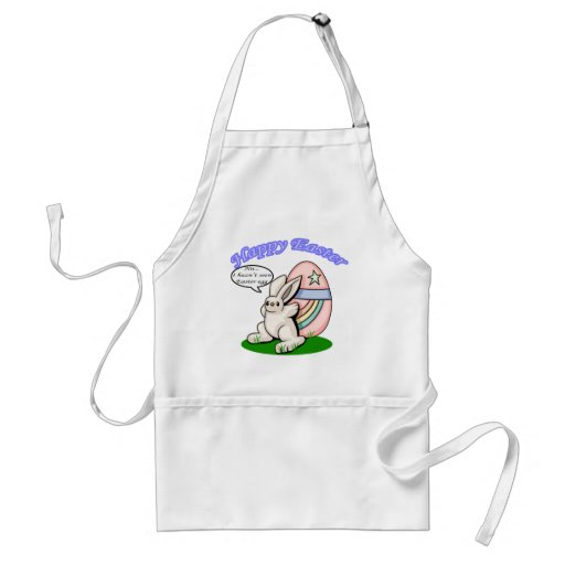 Happy Easter 2 Apron