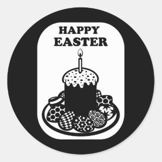Happy Easter_2 Round Sticker