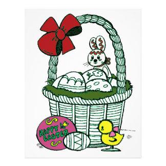 Happy Easter 3 Custom Letterhead