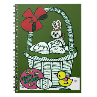 Happy Easter 3 Notebook