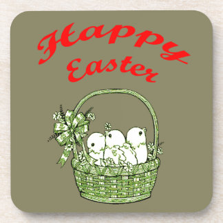 Happy Easter 4 Coaster