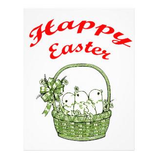 Happy Easter 4 Letterhead