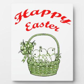Happy Easter 4 Plaque