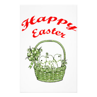 Happy Easter 4 Stationery