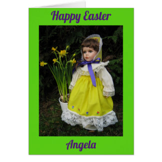 Happy Easter Angela Card