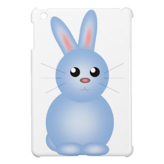 Happy Easter Blue Bunnise iPad Mini Cases