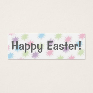 Happy Easter!   Bookmark Mini Business Card