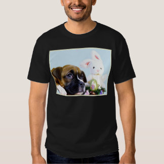 Happy Easter Boxer puppy t-shirt