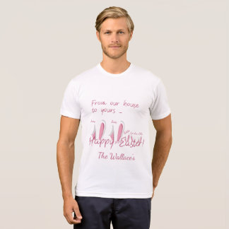 Happy Easter Bunny Ears Customized T-Shirt