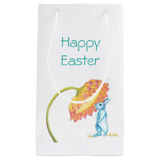 Happy Easter bunny gift bag