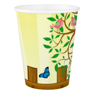 Happy Easter bunny illustration Paper Cup