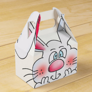 Happy Easter Bunny party favor box