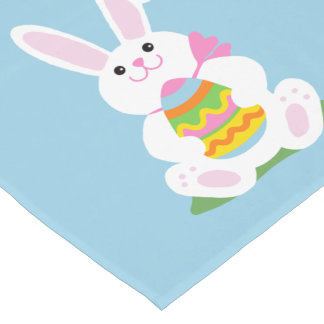 Happy Easter Bunny ~ Personalized Short Table Runner