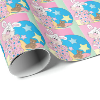 Happy Easter Bunny - Pink Wrapping Paper