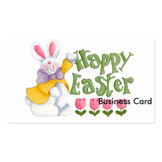Happy Easter Double-Sided Standard Business Cards (Pack Of 100)