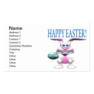 Happy Easter Business Card Templates