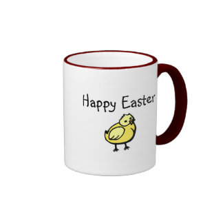 Happy Easter Chick Coffee Mug