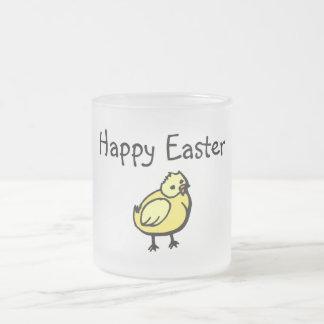 Happy Easter Chick Coffee Mugs