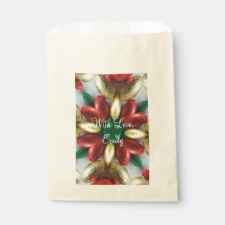 Happy Easter Chocolate Eggs Kaleidoscope Flower Favour Bag