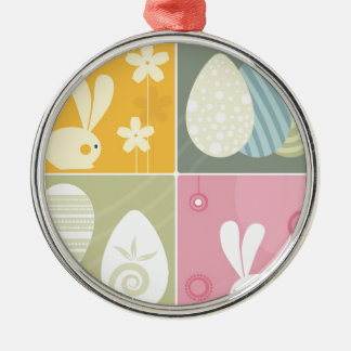 Happy Easter Christmas Tree Ornaments