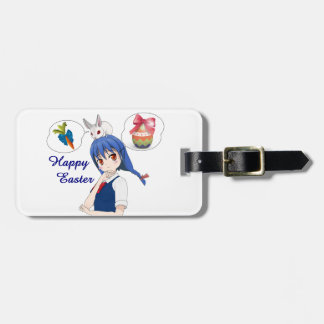Happy Easter (costumizable) Luggage Tag
