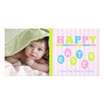 Happy Easter Custom Photo Card