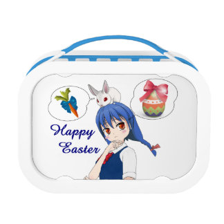 Happy Easter (Customizable) Lunch Box