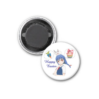 Happy Easter (Customizable) Magnet
