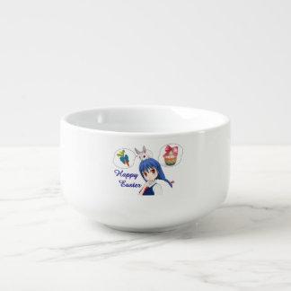 Happy Easter (Customizable) Soup Mug