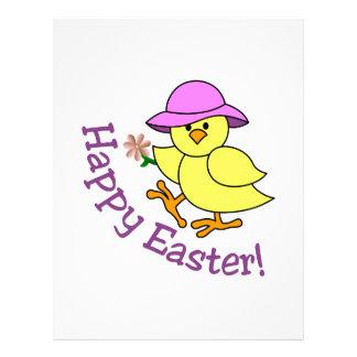 Happy Easter Customized Letterhead