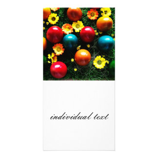 happy Easter Customized Photo Card