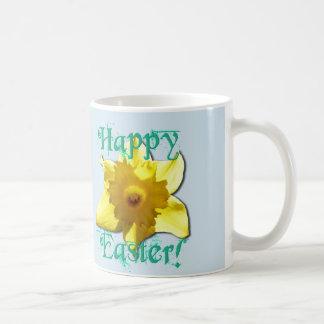 Happy Easter, Daffodil 01.2.4.T Coffee Mug