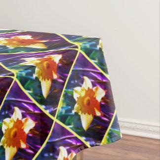 Happy Easter, Daffodil 6.0.F Tablecloth