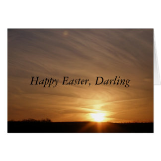 Happy Easter, Darling Card
