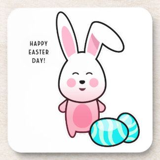 Happy Easter Day Coaster