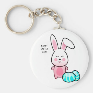 Happy Easter Day Keychain