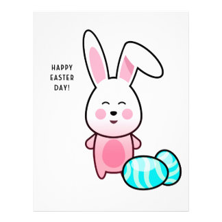 Happy Easter Day Personalized Letterhead